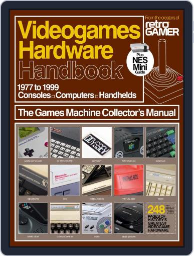 Videogames Hardware Handbook January 12th, 2017 Digital Back Issue Cover