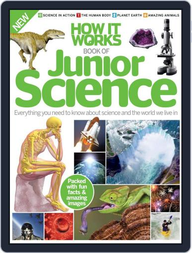 How it Works Book of Junior Science July 1st, 2016 Digital Back Issue Cover