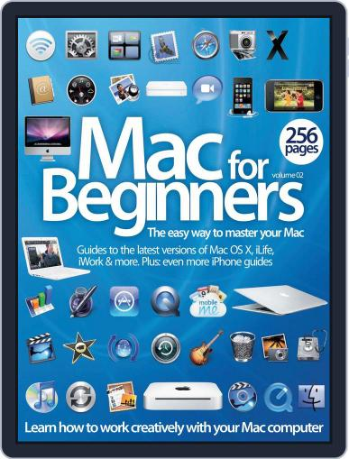 Mac For Beginners Vol 2 July 18th, 2012 Digital Back Issue Cover