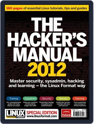 The Hacker's Manual October 25th, 2012 Digital Back Issue Cover