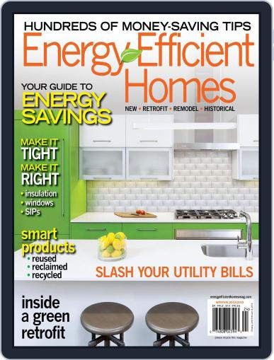Energy Efficient Homes November 29th, 2012 Digital Back Issue Cover