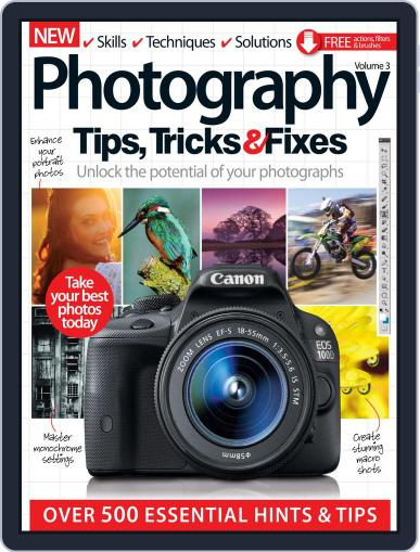 Photography Tips, Tricks & Fixes April 1st, 2016 Digital Back Issue Cover