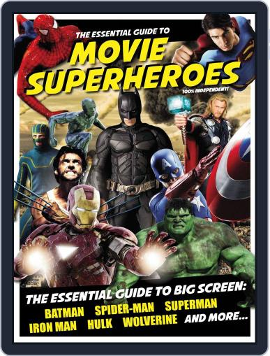 Essential Guide to Movie Superheroes February 11th, 2013 Digital Back Issue Cover
