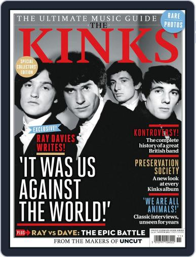 The Ultimate Music Guide: The Kinks February 26th, 2013 Digital Back Issue Cover