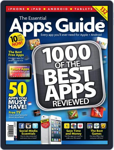The Essential Apps Guide April 22nd, 2013 Digital Back Issue Cover