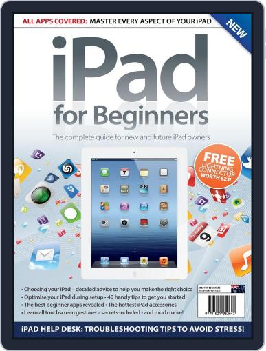 iPad for Beginners Australia April 24th, 2013 Digital Back Issue Cover