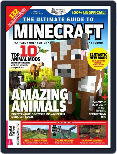 The Ultimate Guide to Minecraft! January 1st, 2018 Digital Back Issue Cover