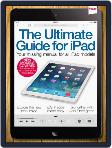 The Ultimate Guide to iPad March 31st, 2014 Digital Back Issue Cover