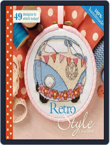 Retro Style Cross Stitch April 2nd, 2014 Digital Back Issue Cover