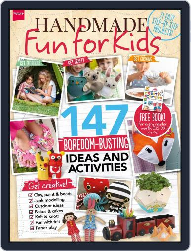 Handmade Fun for Kids August 5th, 2014 Digital Back Issue Cover
