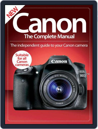 Canon The Complete Manual October 13th, 2016 Digital Back Issue Cover