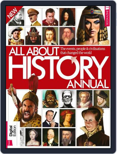 All About History Annual January 1st, 2018 Digital Back Issue Cover
