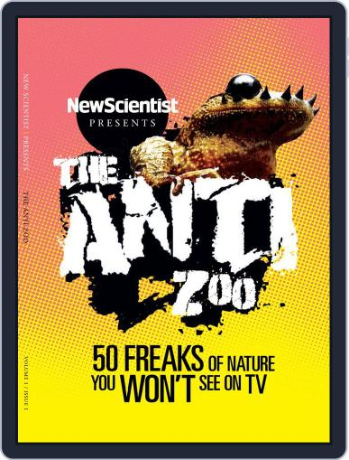 New Scientist Presents: The Anti-Zoo November 18th, 2014 Digital Back Issue Cover