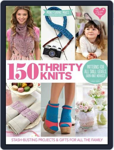 150 Thrifty Knits May 1st, 2016 Digital Back Issue Cover