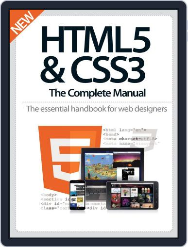 HTML5 & CSS3 The Complete Manual December 10th, 2014 Digital Back Issue Cover