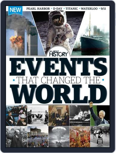 All About History Events That Changed The World February 1st, 2016 Digital Back Issue Cover