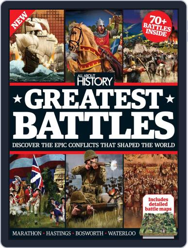 All About History Book Of Greatest Battles November 1st, 2016 Digital Back Issue Cover