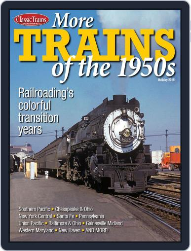 More Trains of the 1950's January 1st, 1970 Digital Back Issue Cover