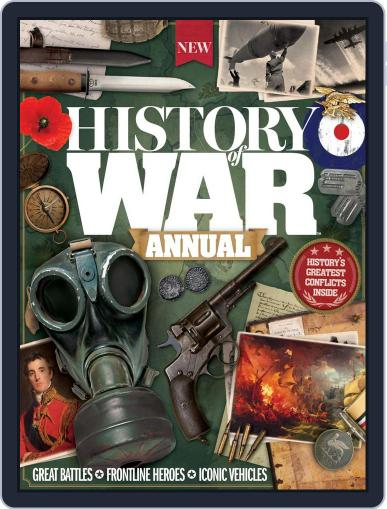 History Of War Annual October 31st, 2016 Digital Back Issue Cover
