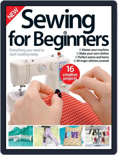 Sewing For Beginners September 1st, 2016 Digital Back Issue Cover
