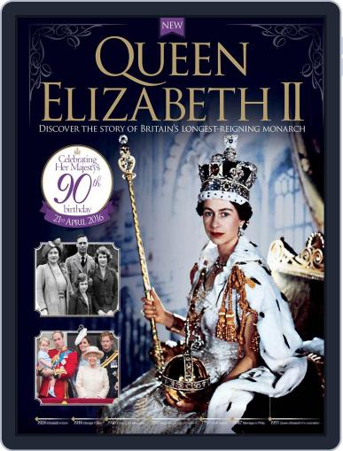 Queen Elizabeth II April 1st, 2016 Digital Back Issue Cover