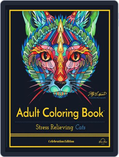 Stress Relieving Cats, Celebration Edition June 1st, 2016 Digital Back Issue Cover