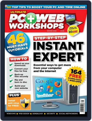 Ultimate PC and Web Workshops October 14th, 2009 Digital Back Issue Cover