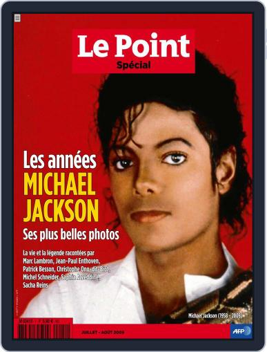 Le Point - Les années Michael Jackson July 1st, 2017 Digital Back Issue Cover