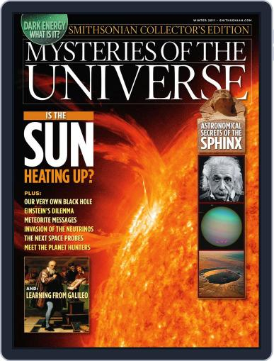Mysteries of the Universe January 1st, 2011 Digital Back Issue Cover