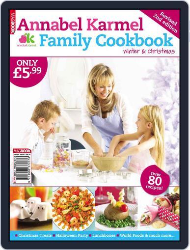 Annabel Karmel Family Cookbook Winter and Christmas 2009 February 1st, 2010 Digital Back Issue Cover