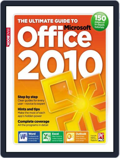 The Ultimate Guide to Office 2010 July 15th, 2010 Digital Back Issue Cover