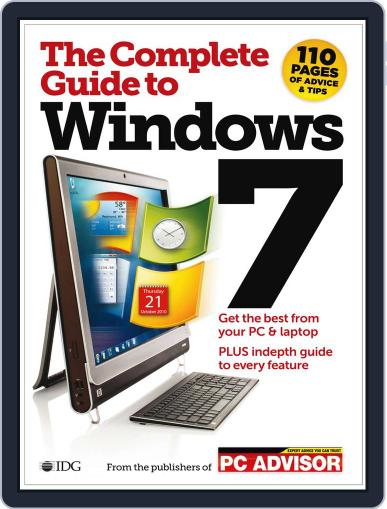 The Complete Guide To Windows 7 November 25th, 2010 Digital Back Issue Cover