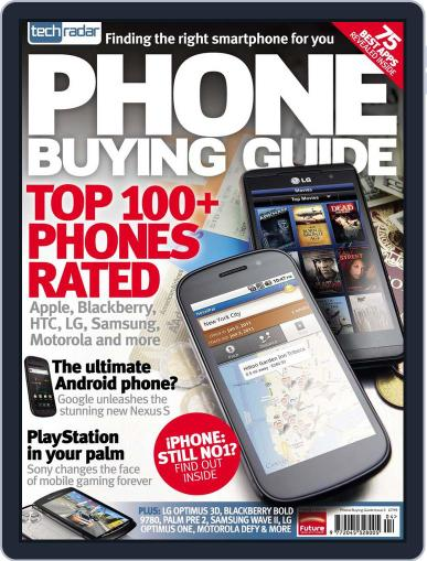 The TechRadar Mobile Phone Buying Guide April 14th, 2011 Digital Back Issue Cover