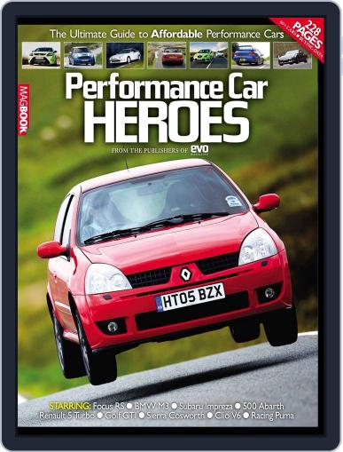 Performance Car Heroes April 1st, 2011 Digital Back Issue Cover
