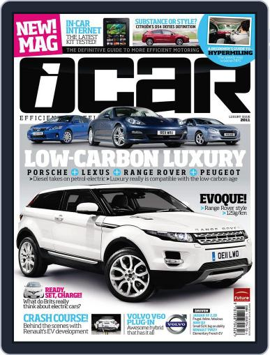 iCAR August 22nd, 2011 Digital Back Issue Cover
