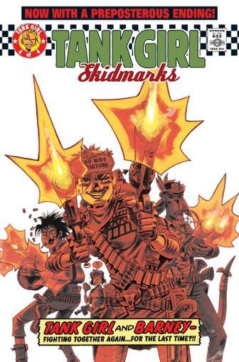 Tank Girl: Skidmarks April 26th, 2011 Digital Back Issue Cover