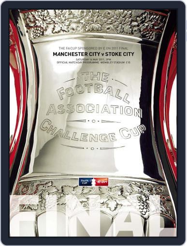 The FA Cup Final 2011 Official Programme May 12th, 2011 Digital Back Issue Cover