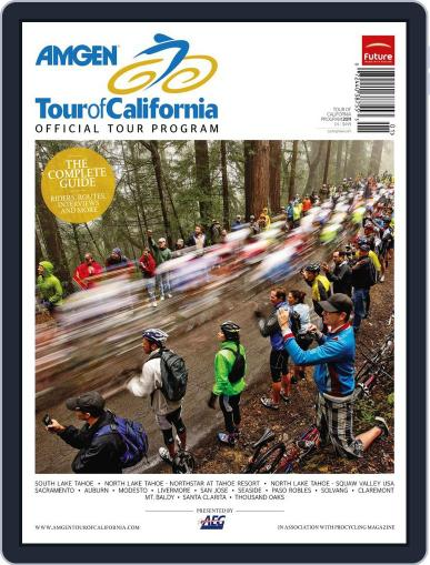 Amgen Tour of California Official 2011 Tour Program May 1st, 2011 Digital Back Issue Cover