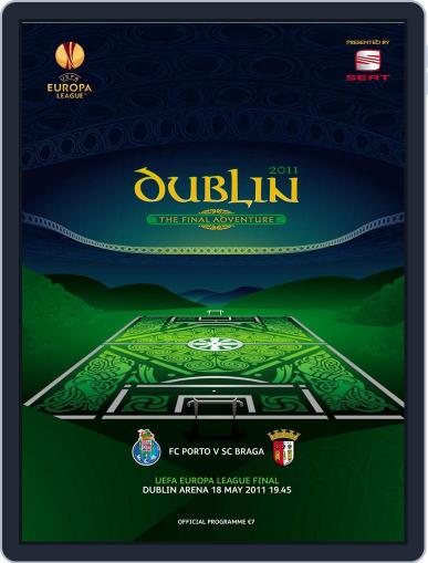 UEFA Europa League final official matchday programme May 19th, 2011 Digital Back Issue Cover