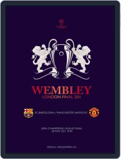 UEFA Champions League final official matchday programme May 24th, 2011 Digital Back Issue Cover
