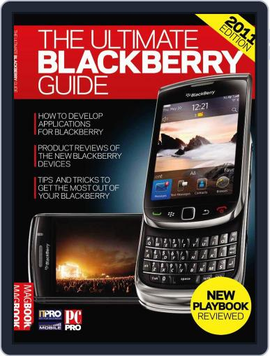 The Ultimate Blackberry Guide 3rd edition May 25th, 2011 Digital Back Issue Cover