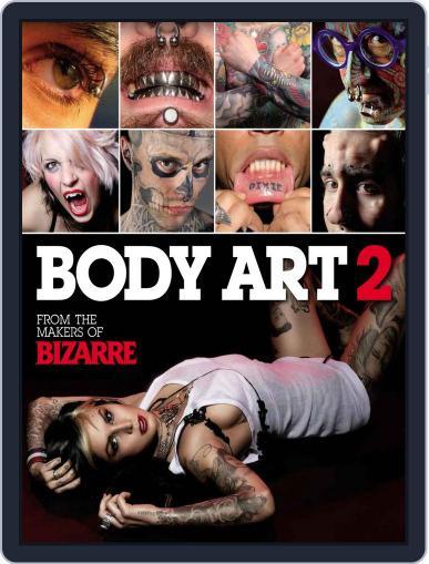 Bizarre Body Art 2 June 8th, 2011 Digital Back Issue Cover
