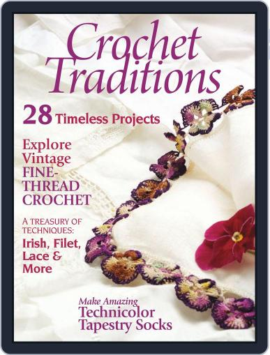 Crochet Traditions August 1st, 2012 Digital Back Issue Cover