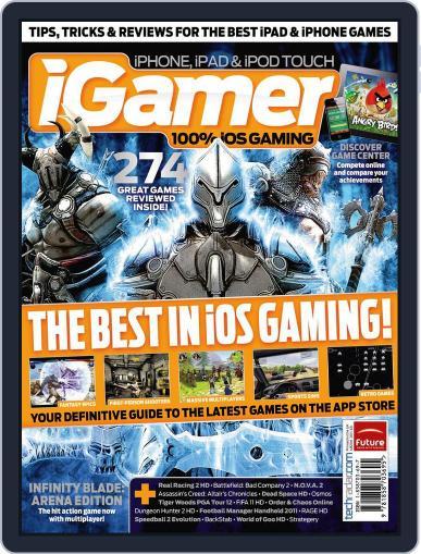iGamer September 12th, 2011 Digital Back Issue Cover