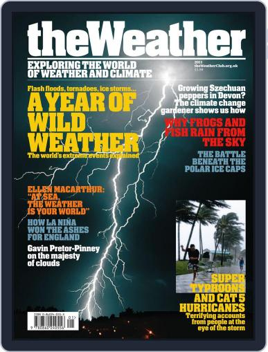 The Weather 2011 September 21st, 2011 Digital Back Issue Cover