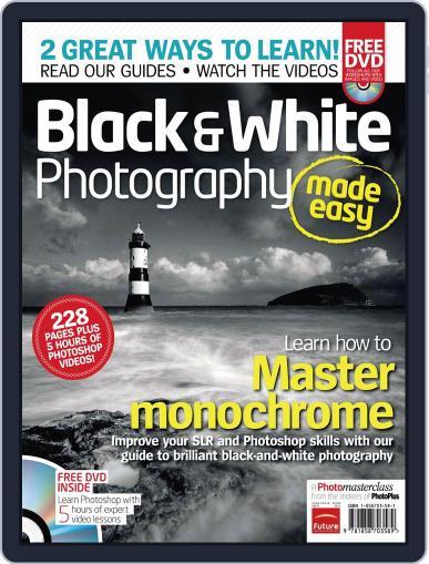 Black & White Photography Made Easy September 21st, 2011 Digital Back Issue Cover