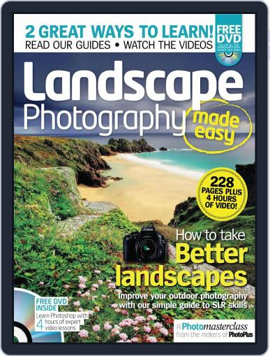 Landscape Photography Made Easy September 21st, 2011 Digital Back Issue Cover