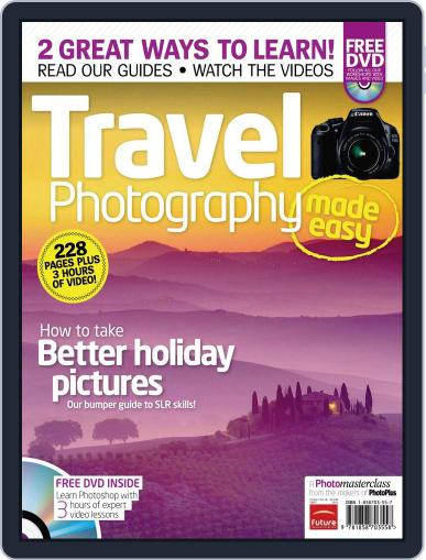 Travel Photography Made Easy September 21st, 2011 Digital Back Issue Cover