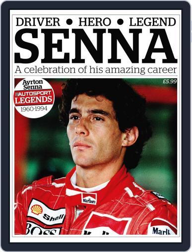 Autosport Legends:Ayrton Senna October 12th, 2011 Digital Back Issue Cover