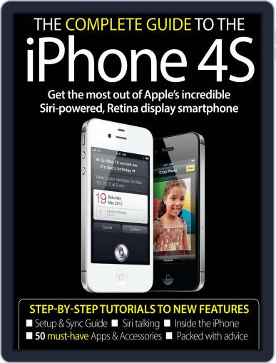 The Complete Guide to the iPhone 4S November 16th, 2011 Digital Back Issue Cover